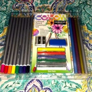 Nwt Color Pencil Drawing Set by Sargent Art